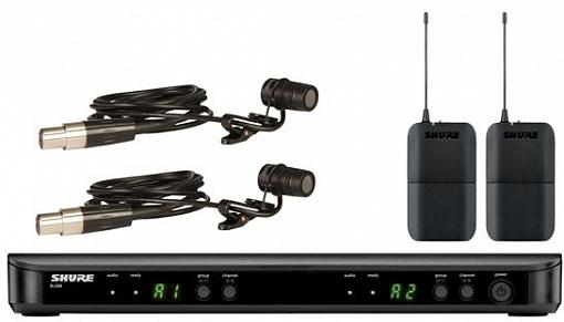 Радиосистема SHURE BLX188E K3E 606-638 MHz